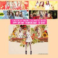 Pack Signature #16 [ Only Ji Yeon ] HPBD to Bon by BunnyLuvU