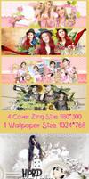 Pack Signature #19 [HPBD] Qri and EunJung by BunnyLuvU