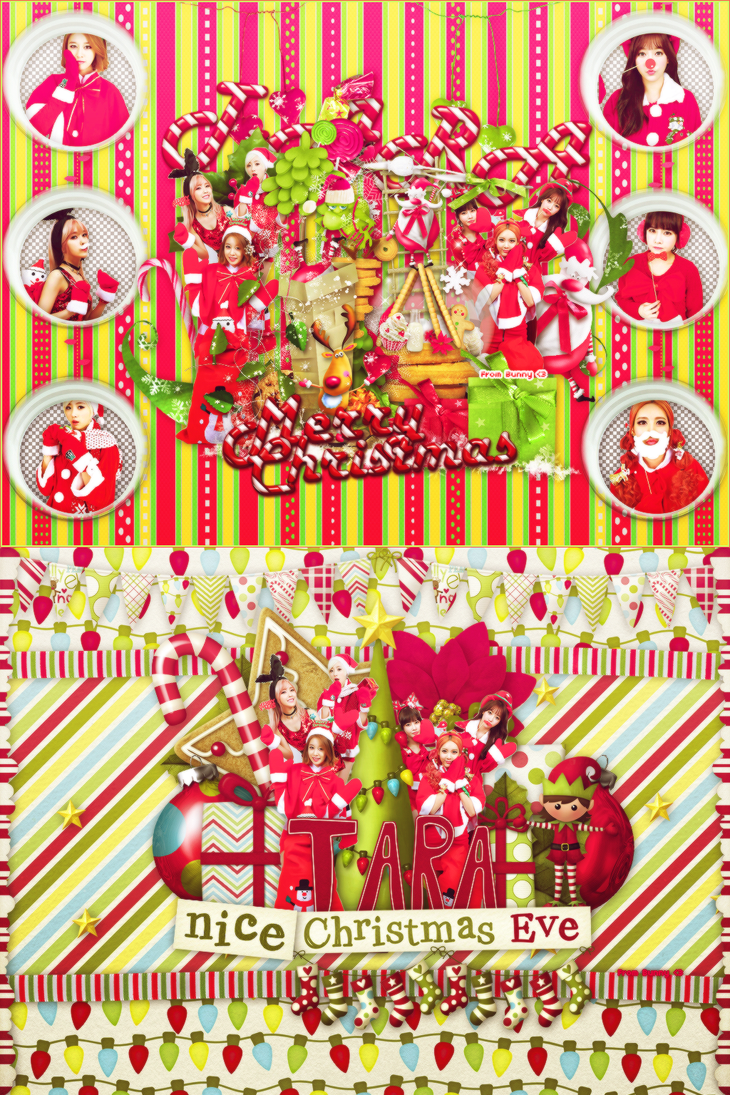 201122014-T ARA Merry Christmas Request by @Bunny by BunnyLuvU