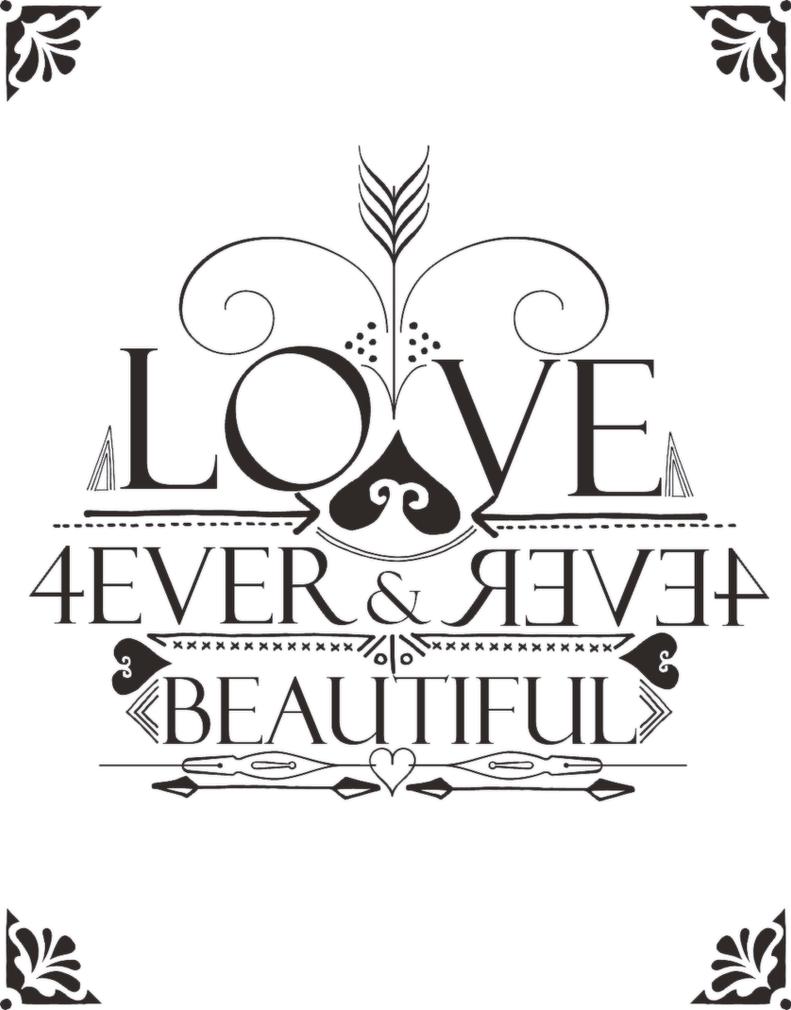 01032015-LOVE FOREVER BEAUTY by BunnyLuvU