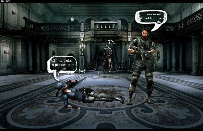 Resident Evil Funny My Home And Yours