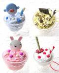 Ice Cream Parfait Straps by souzoucreations