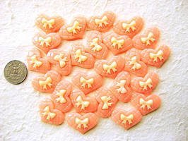 Soft Pink Heart DecoSweets by souzoucreations