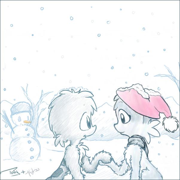 Winter Wonderland by KiTSUNEMAGiC1