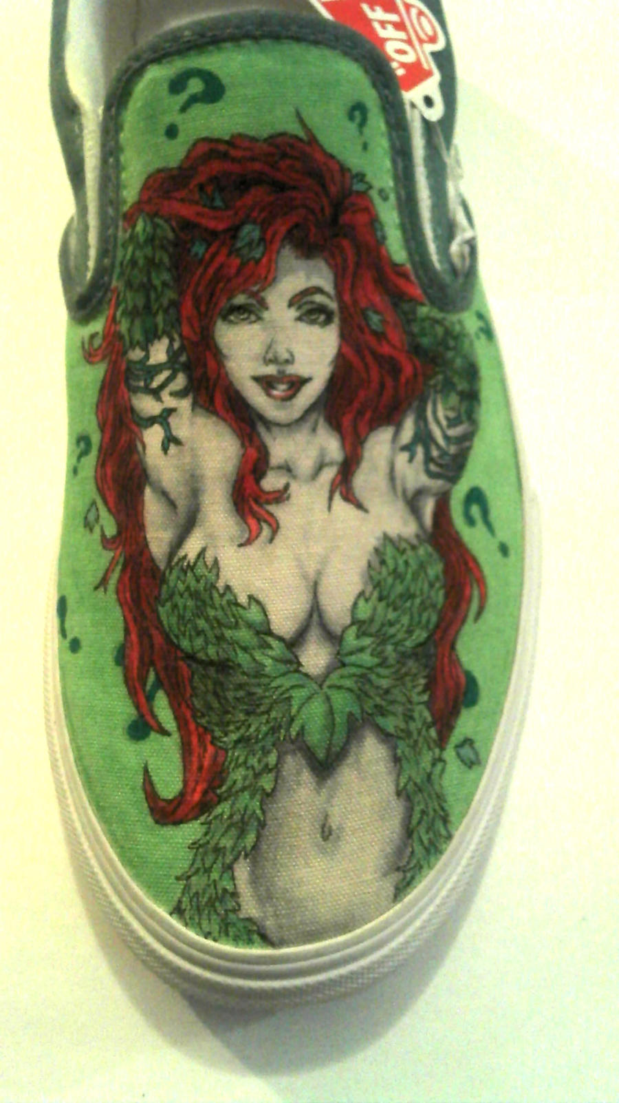 Poison Ivy shoes by tfiebing760