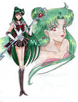 Sailor Pluto by nephrite-butterfly