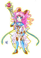 SMOCT chibies -Sailor Rozaria- by nephrite-butterfly