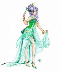 Miss SMV Pageant: Round 1 - Masquerade Ball by nephrite-butterfly