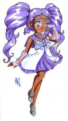 Chibi Sailor Irys by nephrite-butterfly