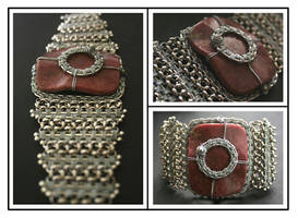 ...rhodonit bracelet... by BlueBluebell
