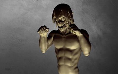 Eren Jaeger Sculptris by MichaelDickey