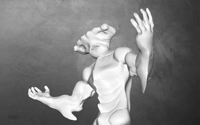 Hammer Head Shark by MichaelDickey