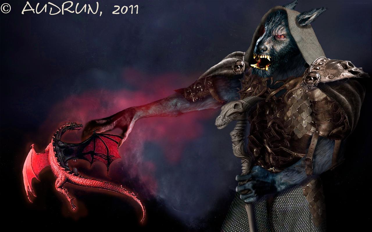 shadow priest worgen wow by audrun fan art digital art drawings games ...
