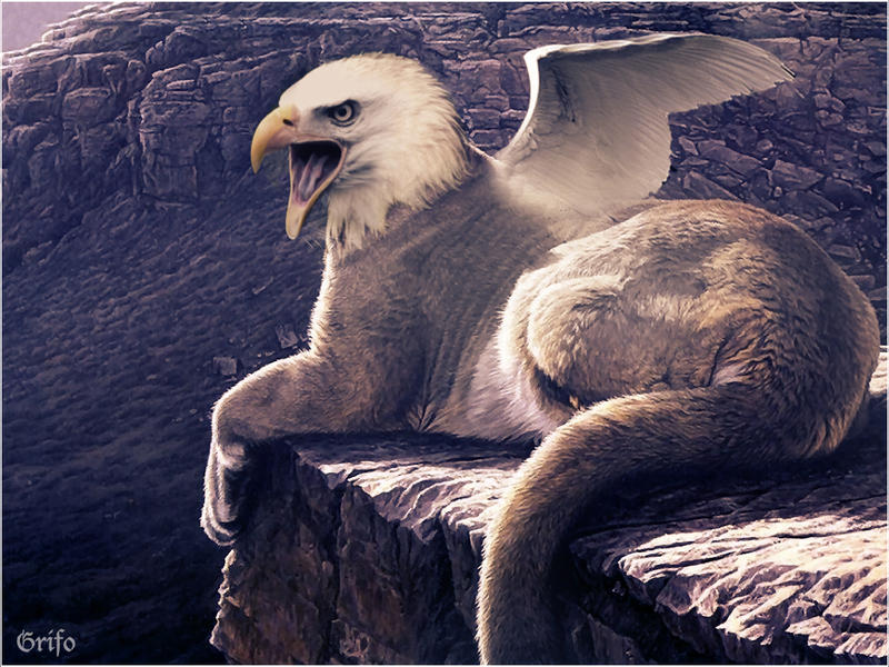 The great grifo by dark fayt on deviantart - Animales mitologicos grifo ...
