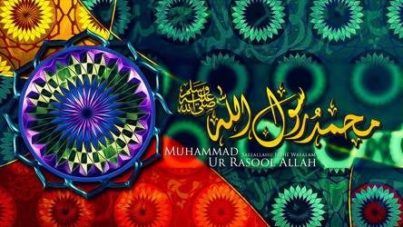 Muhammad ur Rasool Allah Sallallahu Elihe Wasalam by maniPakistani