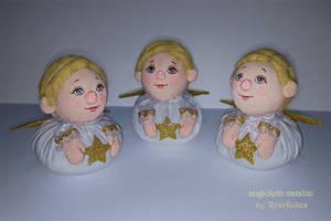 Angioletti natalizi by RosaRubea