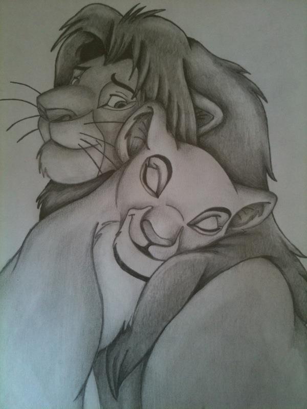 Lion king drawings nala