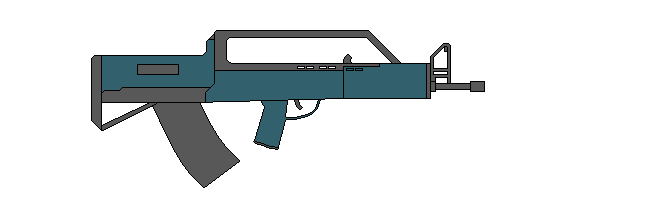 Bullpup Rifle (grand theft auto 5) by Wxodus