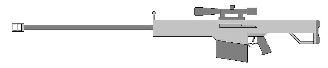 Barrett M82A1 by Wxodus