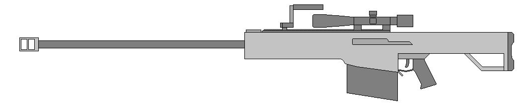 Barrett M82A1M by Wxodus