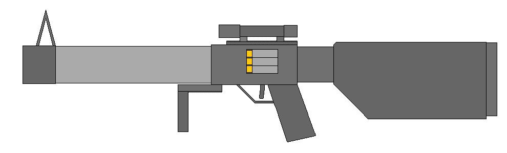 FDM L5 Pseudo-Caseless Rifle by Wxodus