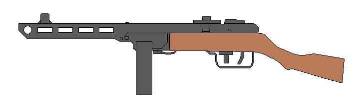 PPSh-41 by Wxodus