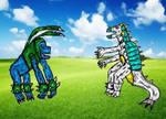 Virback vs Farmon by Cupercrusader