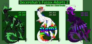 Fussix Adopts 2 (Updated, 2Days left)