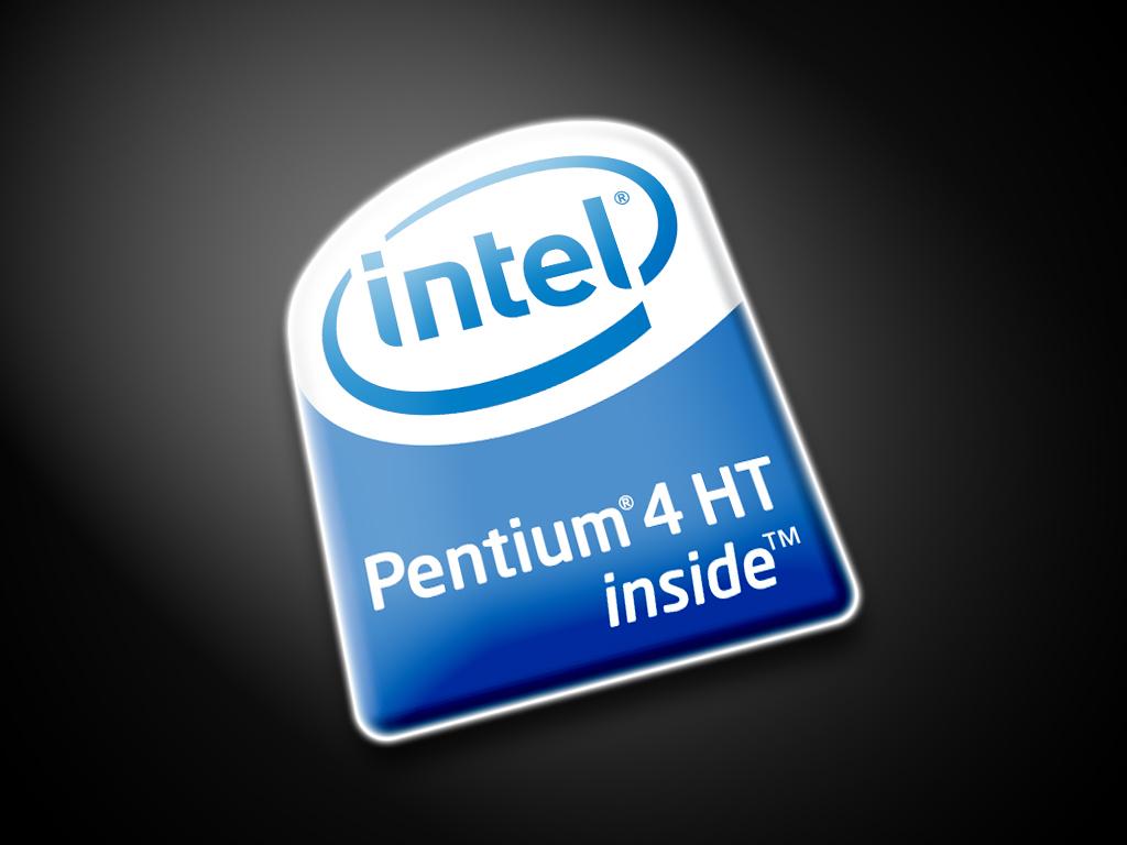 Intel Pentium 4 Sticker Logo Label Lot of 40