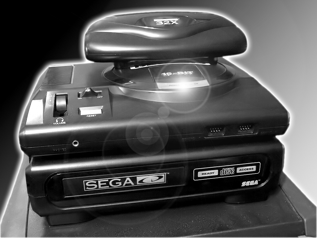 Sega Genesis CD 32X by blackevilweredragon