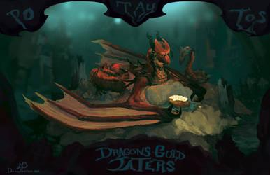 Dragons Gold Taters by nigillsans