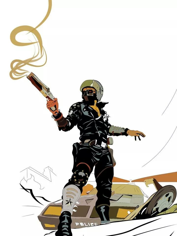 Mad Max Poster w.i.p. by Raggatron