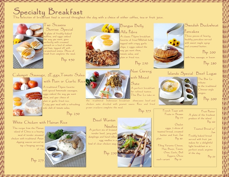 Restaurant menu lay out by jigga jayb on deviantart for Artistic cuisine menu