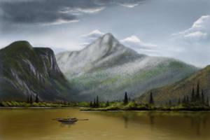 Reflection of calm by phantastes