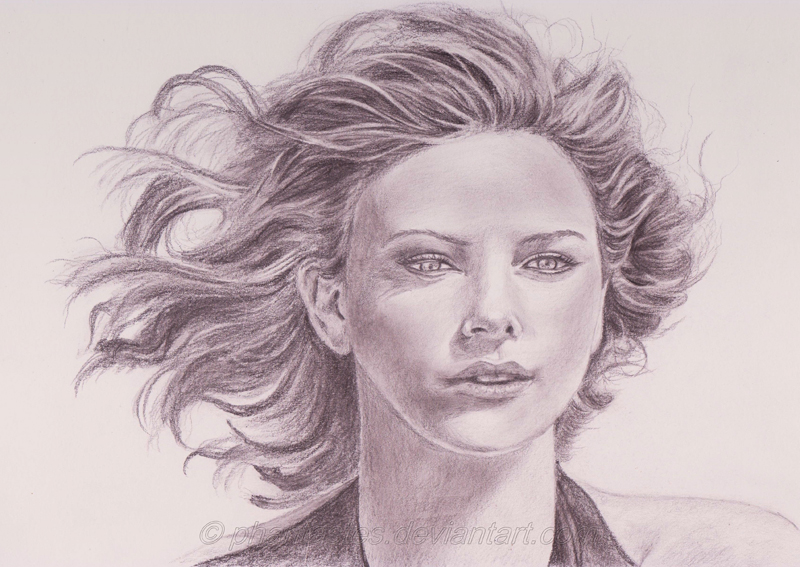 Charlize Theron by phantastes