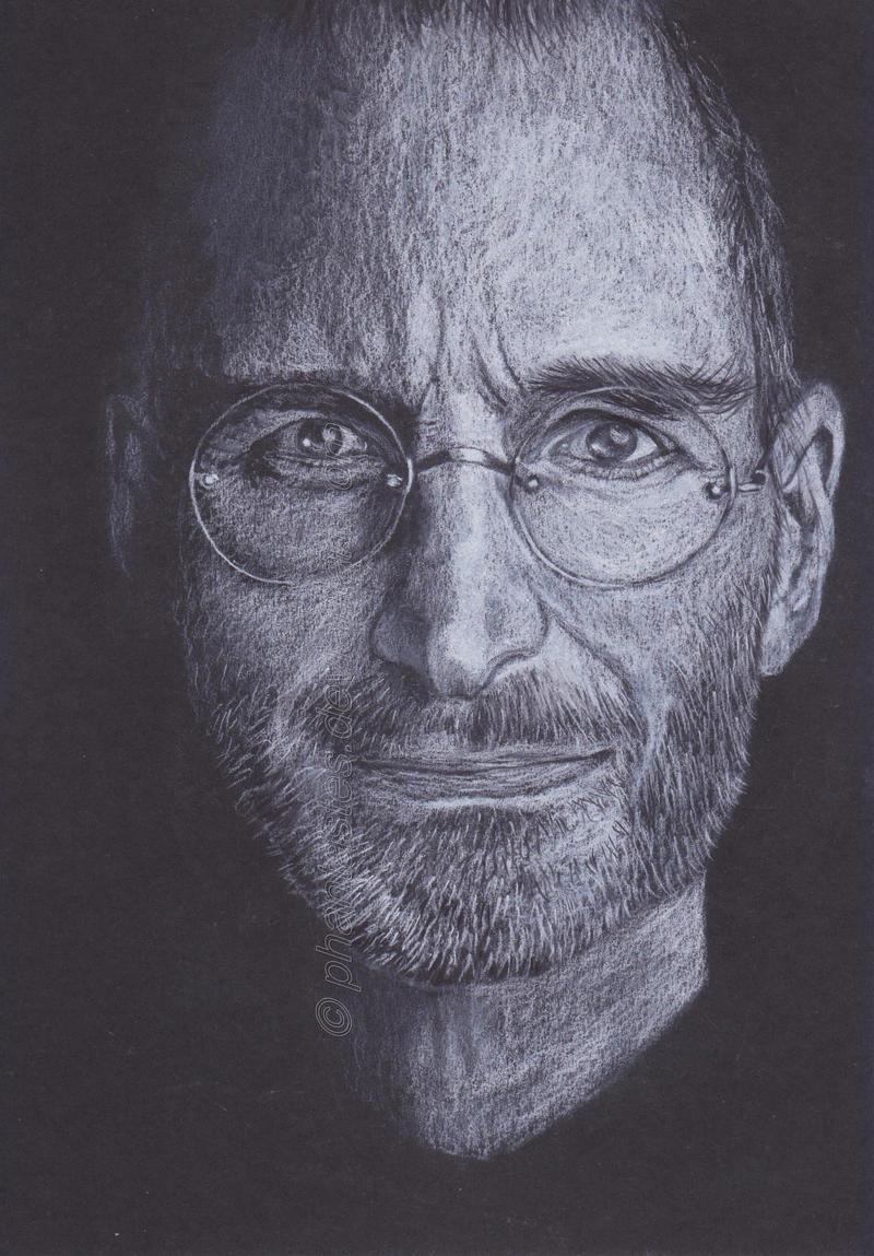 Steve Jobs by phantastes