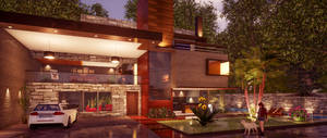 Archviz Residential Exterior