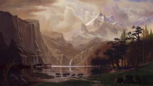Tribute to Albert Bierstadt 3