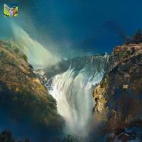 Nvidia Canvas Waterfall
