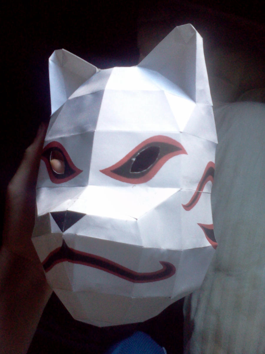 Kakashi Hatake ANBU mask! by Deadlycreations