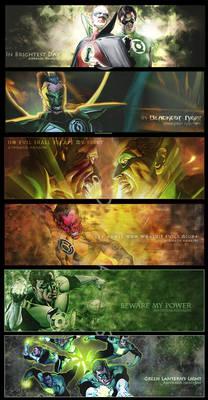 Green Lantern Motto Sig Set