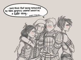 DragonAge 30DayChallenge Day16 by kamidoodles