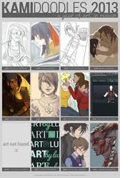 2013 Summary of Art by kamidoodles