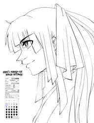 Manga-ish Ink Brush by kamidoodles
