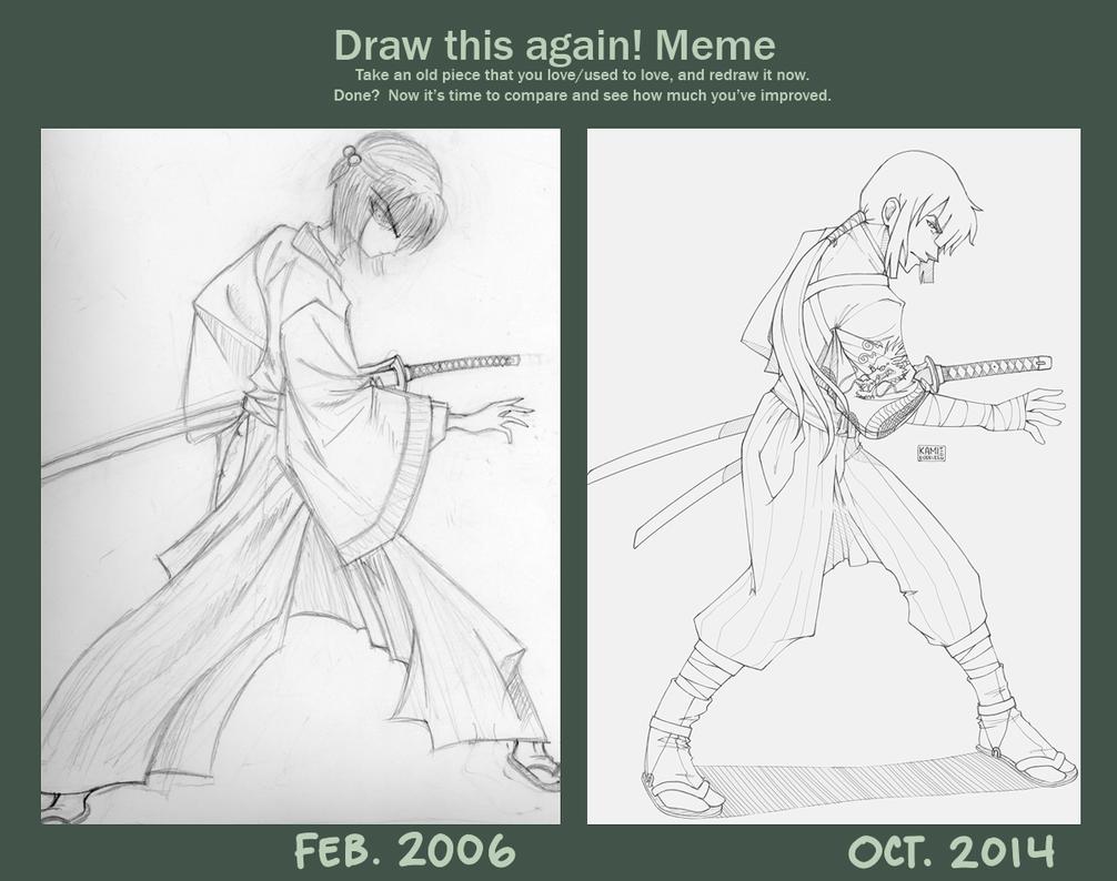 Draw It Again Meme 13 by kamidoodles