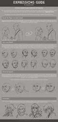 Expressions Guide by kamidoodles