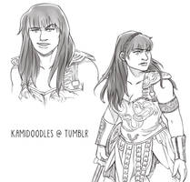 Xena by kamidoodles