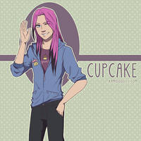 Cupcake For Catsqueen by kamidoodles