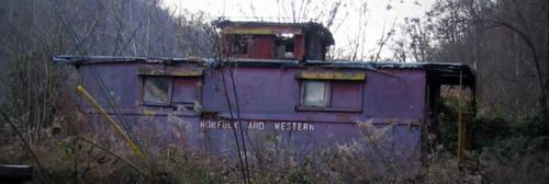 Caboose, Verda, Kentucky... by billndrsn