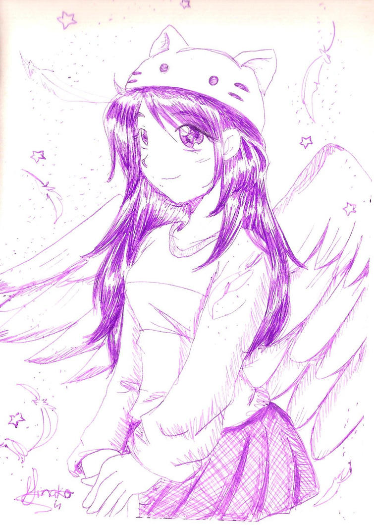 Blue Kitty 2 by Minako001